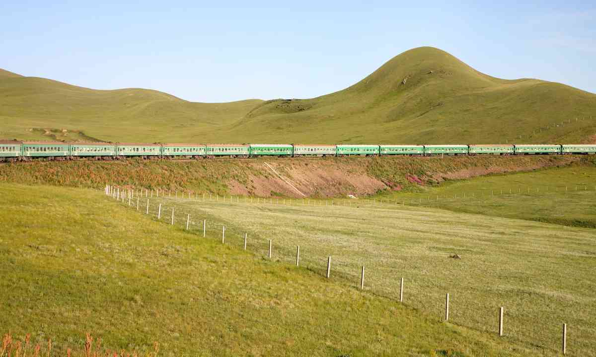 Speeding through Siberia (Dreamstime)
