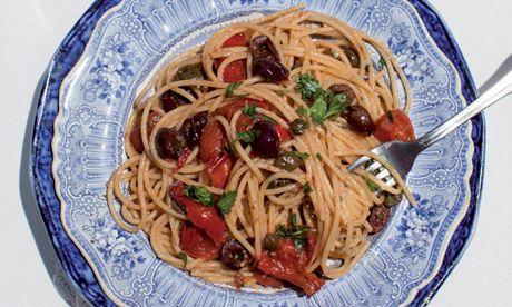 Simple seafood recipes from the Amalfi coast