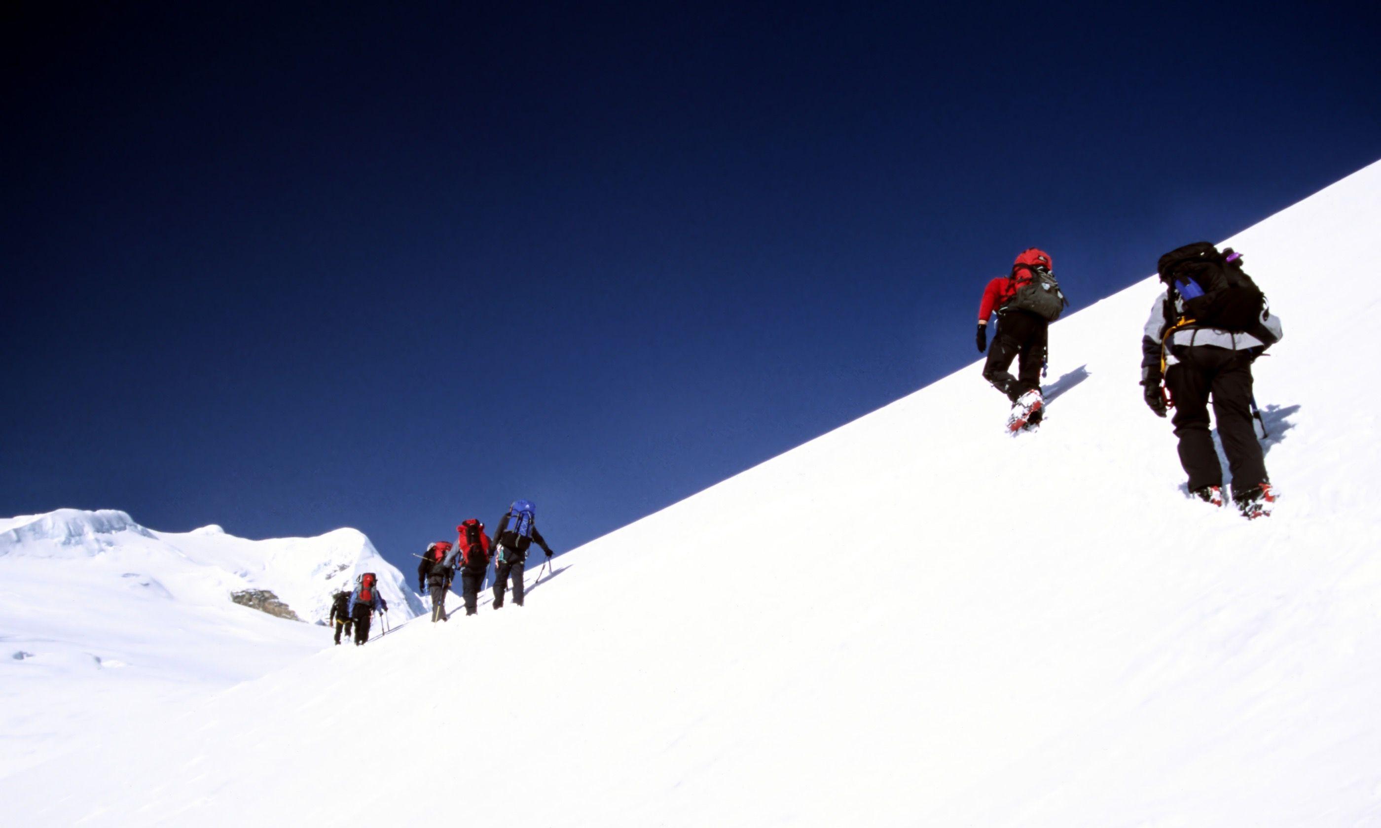 Climbing Mera Peak (Dreamstime)