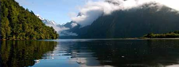 Travel Icon Milford Sound New Zealand Wanderlust