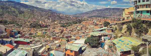 Looking over Medellin (Dreamstime)