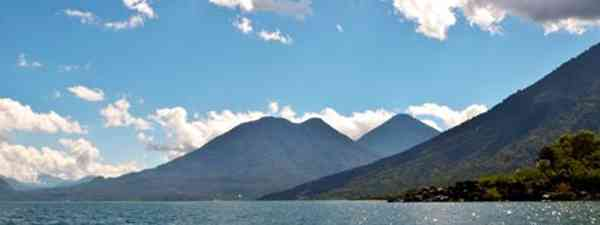 Lake Atitlan, surrounded by volcanoes (mikesten)