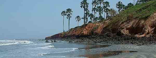The wild, windswept coast of The Gambia (Altweibersommer)