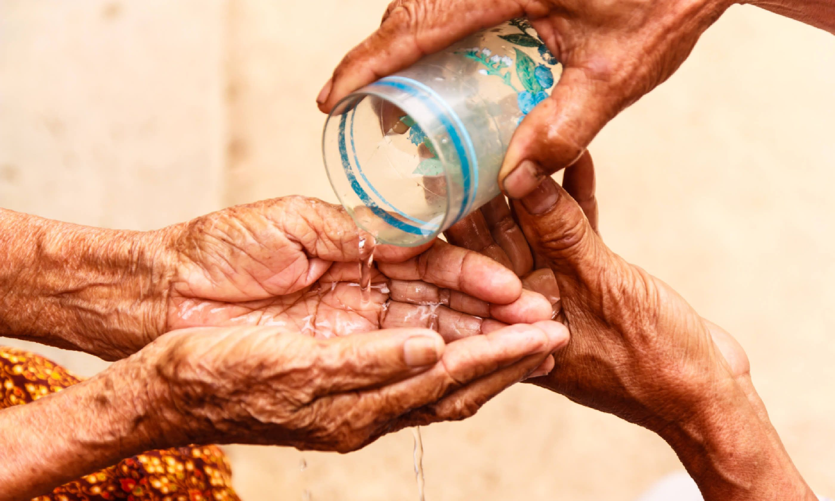 Songkran ceremony (Shutterstock)