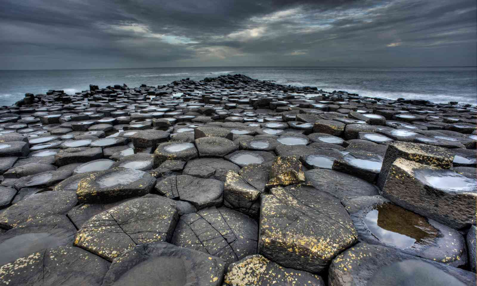 The basalt columns of the Giant's Causeway (Dreamstime)