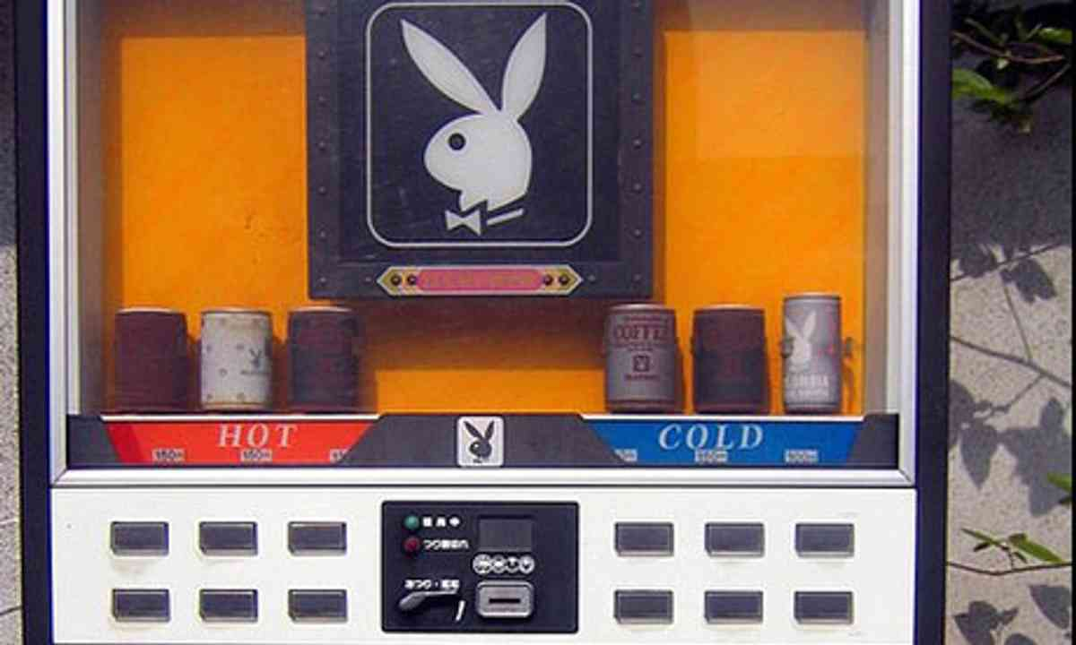 Playboy Coffee Vending Machine