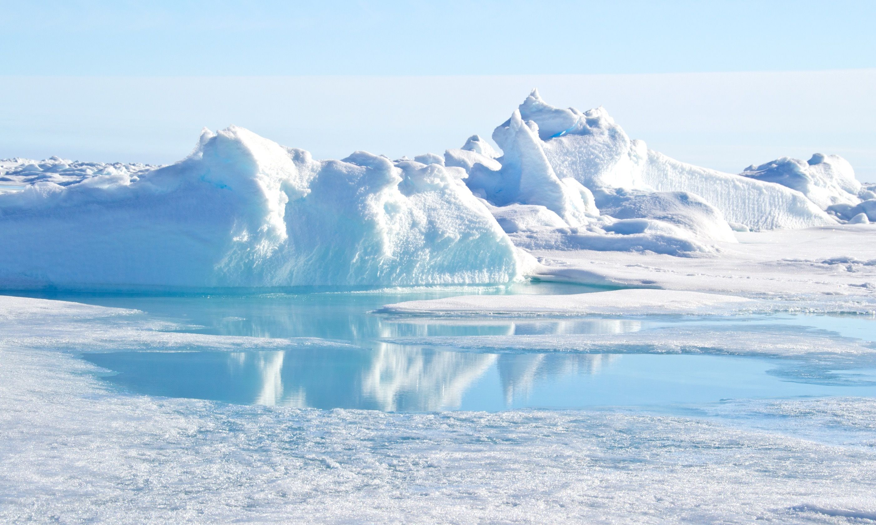 The geographic North Pole (Dreamstime)