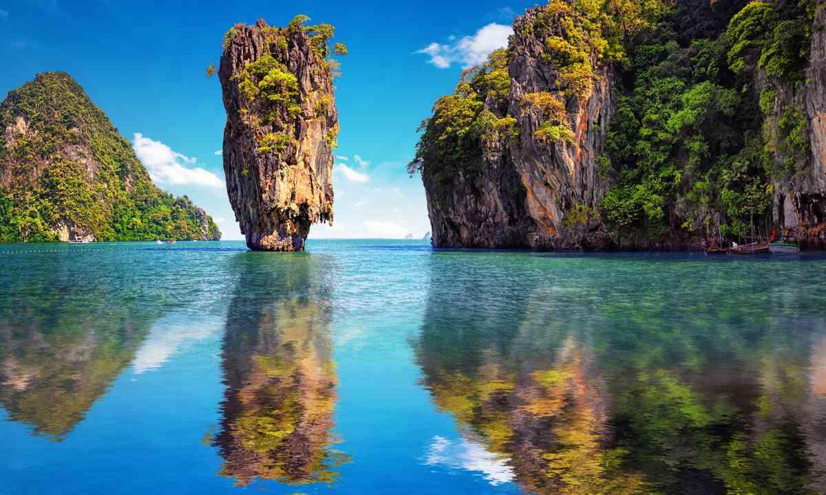 Reflections on James Bond Island (Dreamstime)