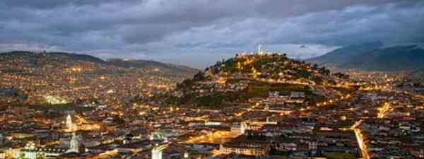 Quito at night Cat Edwardes