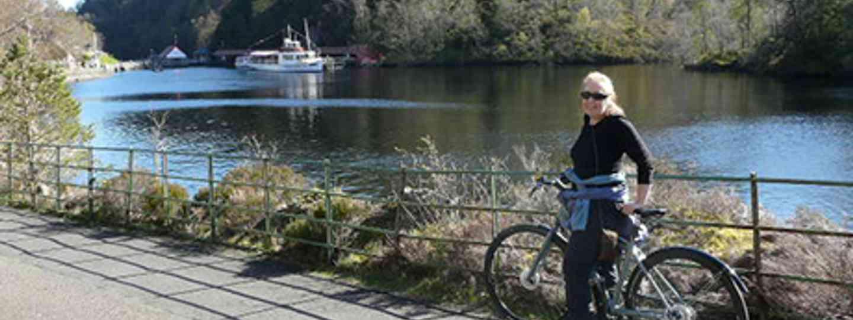 Helen Moat near a boat (Helen Moat)