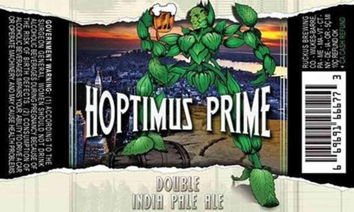 Hoptimus Prime