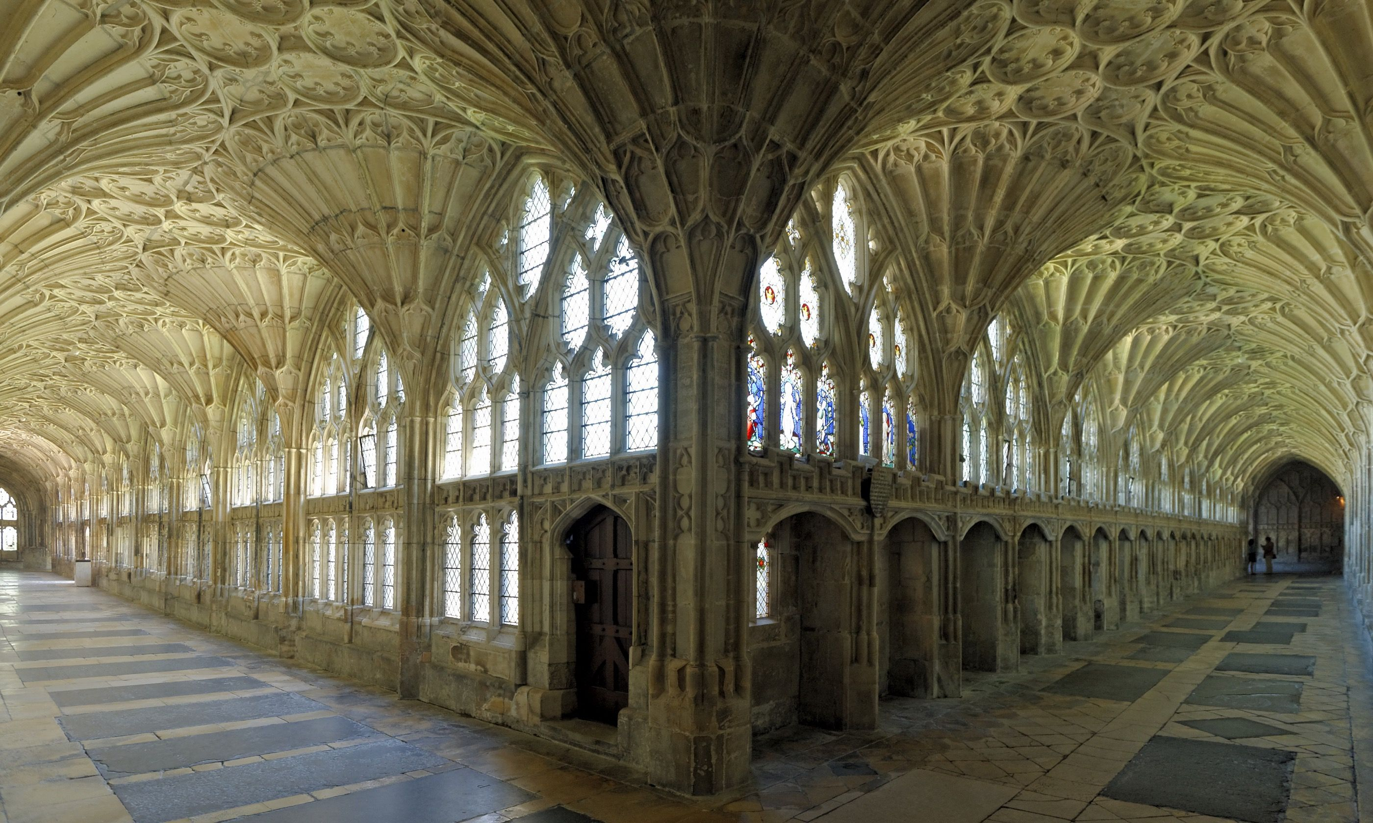 Intricate stonework in the cloisters (Dreamstime)