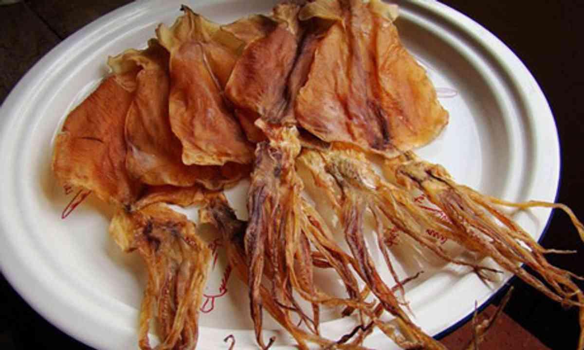 Dried Cuttlefish