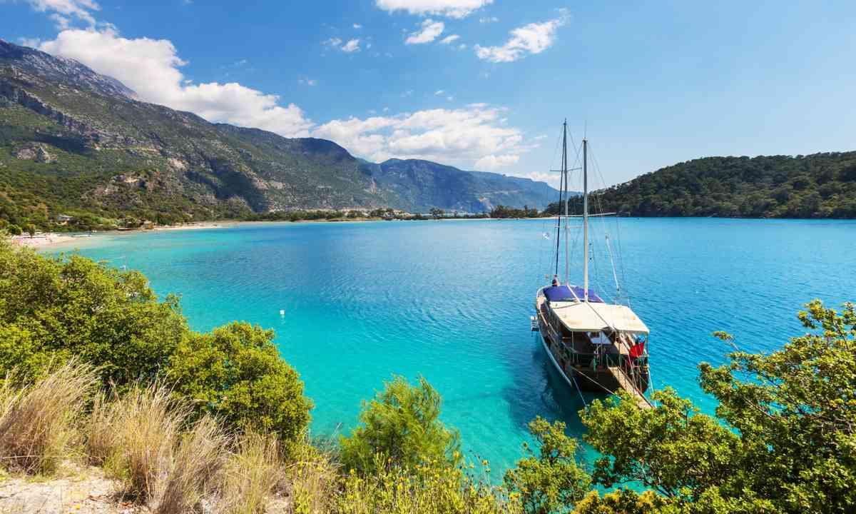 Turkey's Lycian coast (Dreamstime)
