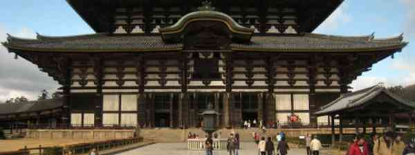 Stand face to face with the powerful structure of the Daibutsu Hall (JoshBerglund19)