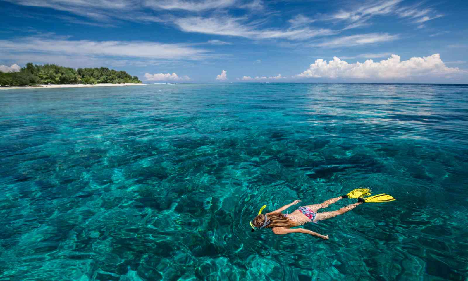 Snorkelling in the Gili Islands (Shutterstock)