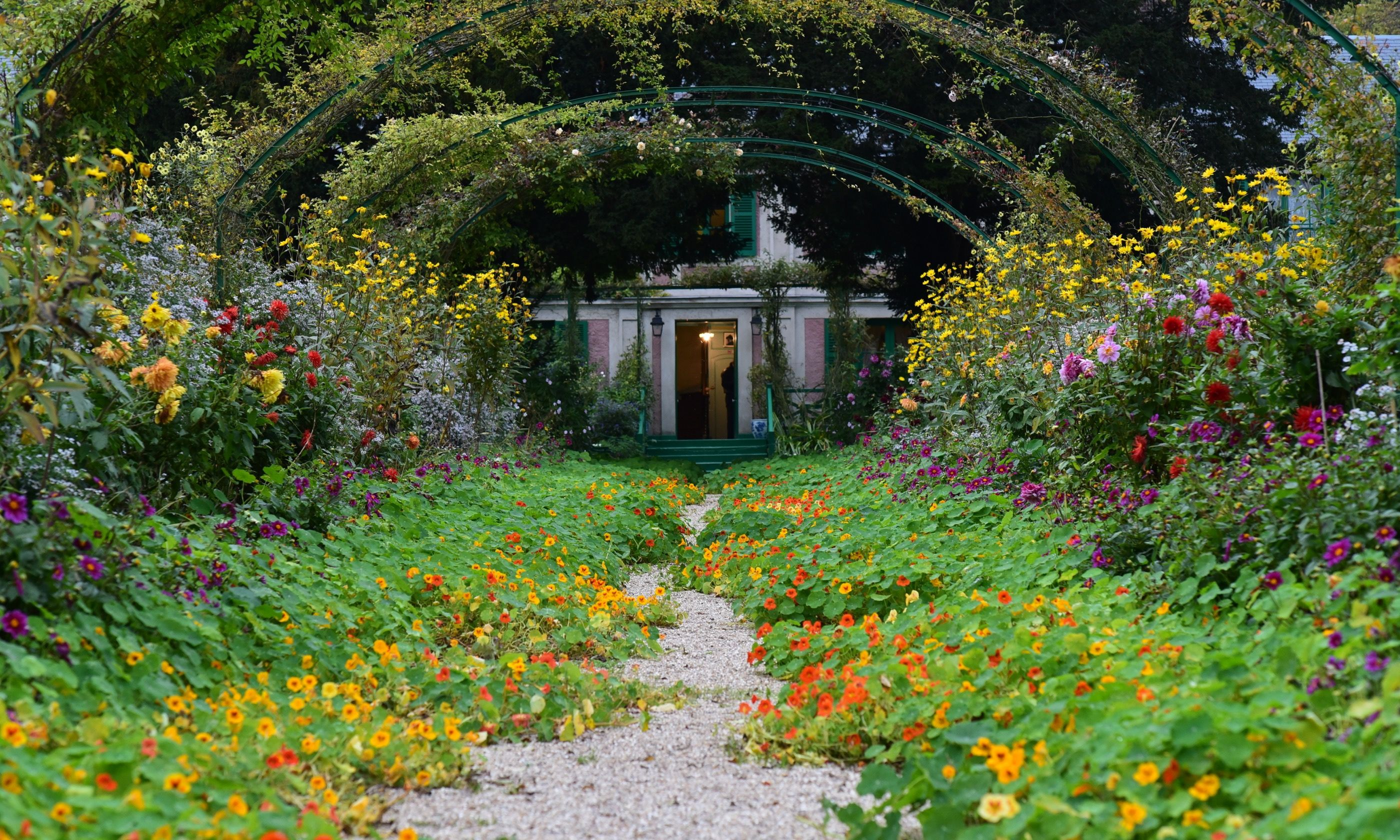 Claude Monet's garden in Giverney (Dreamstime)