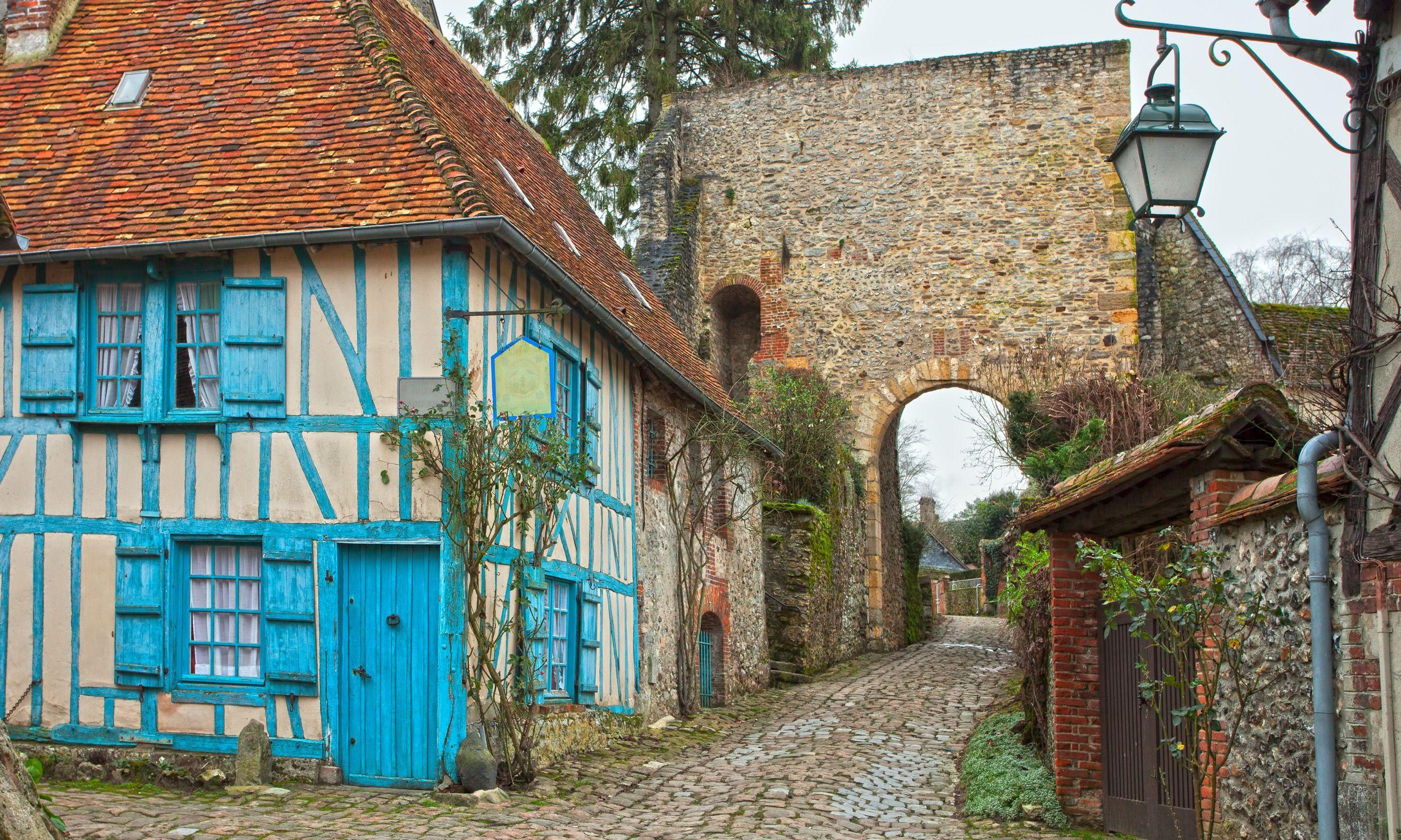 Gerberoy old town (Dreamstime)