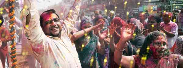 Delhi Holi festival (Shutterstock)