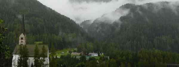 Camping in Switzerland (Helen Moat)