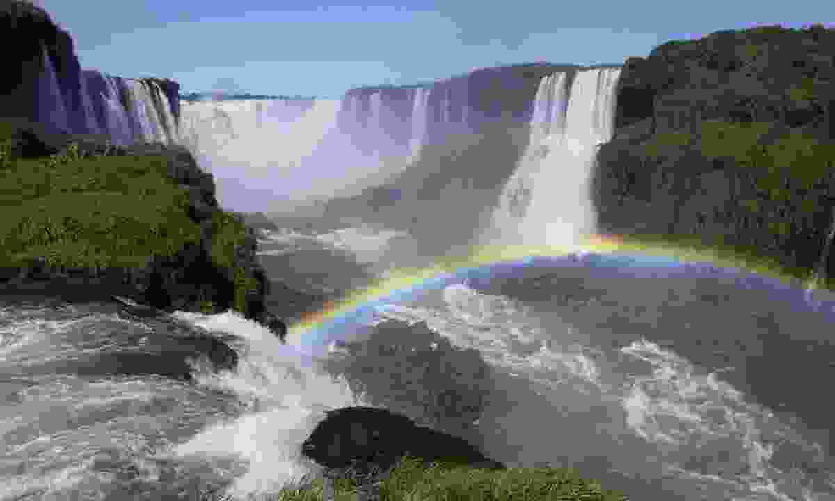 Iguazu Falls on the Argentina/Brazil border (Dreamstime)