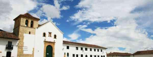 The vast cobbled central plaza of quiet, colonial town, Villa de Leyva  (Graeme Green)