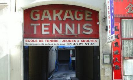 Garage Tennis, Paris