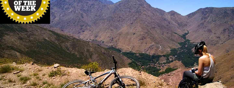 Harriet with her mountain bike (Owen Ensor)