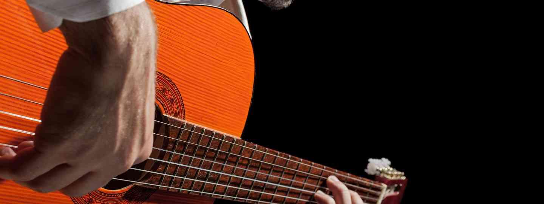 Spanish guitarist (Shutterstock: see below)