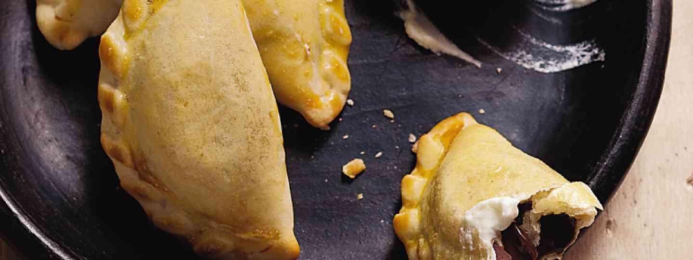 Empanadas with dulce de leche (Supplied)