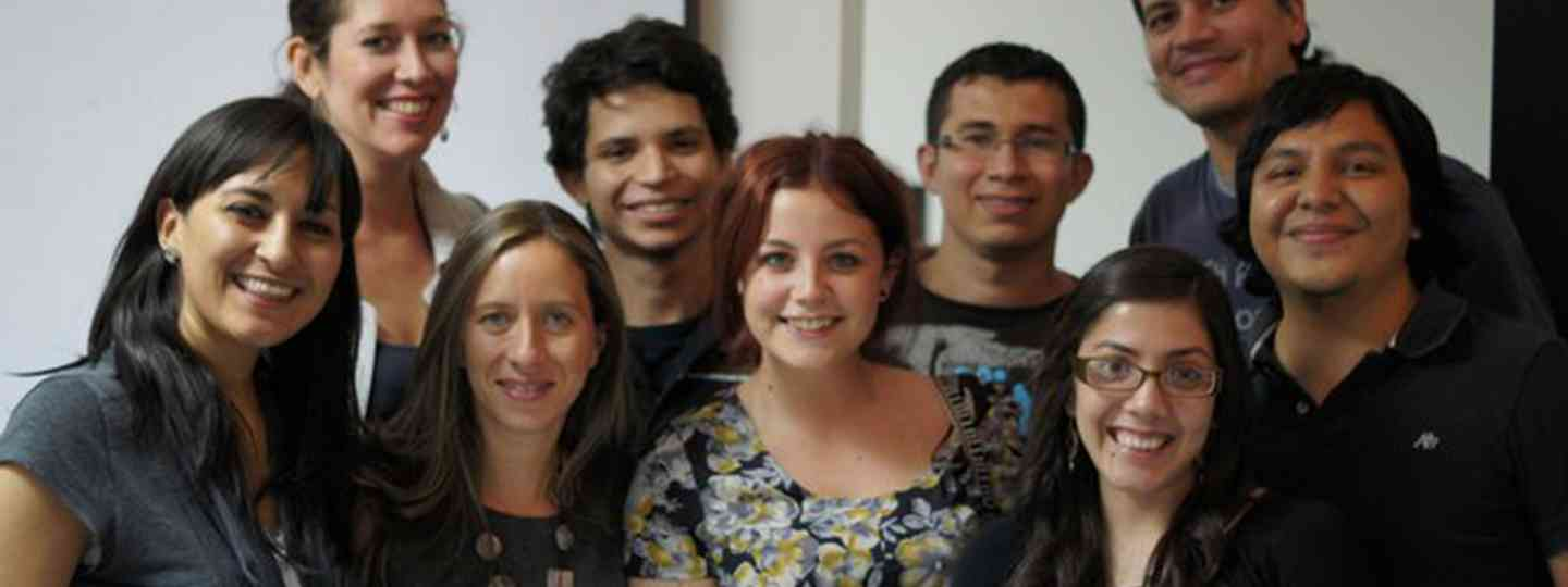 Gemma Fottles and her Honduran colleagues (Gemma Fottles)