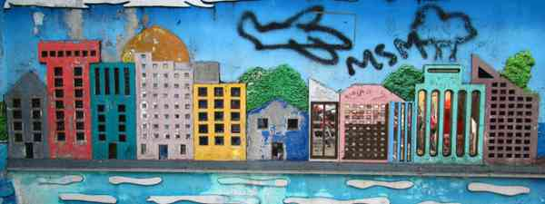 Male street art (Tom Smith)