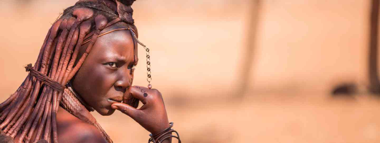 A Himba tribeswoman (Shutterstock)