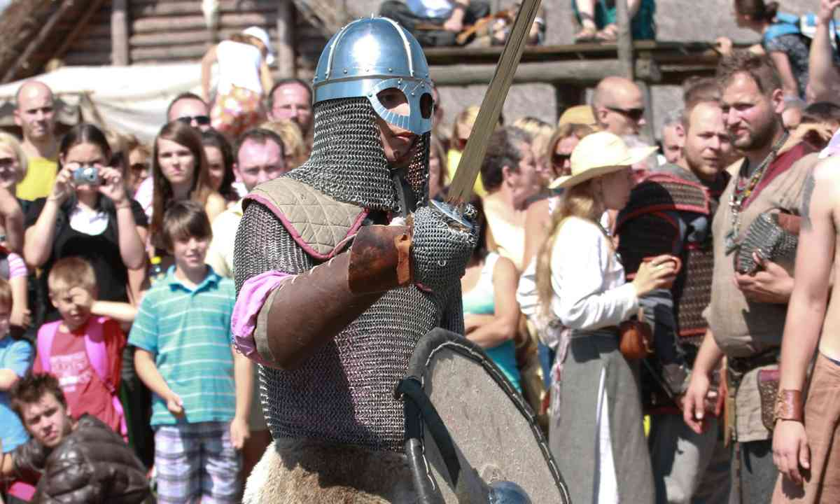 Living history at the Fortress of Jomsborg (Dreamstime)