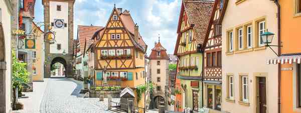 Rothenburg ob der Tauber (Shutterstock.com. See credit below)