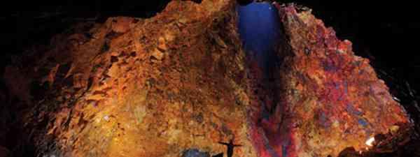 What it looks lke inside an Icelandic volcano (Villhelm Gunnarsson)