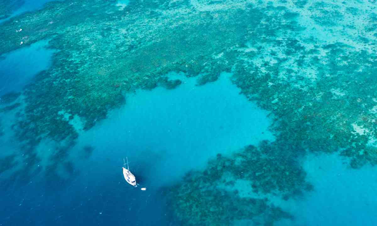 Liveaboard boat on the Great Barrier Reef (Shutterstock)