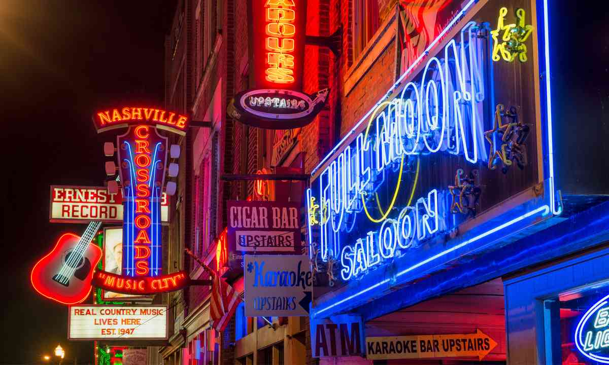 Music City, Nashville (Dreamstime)
