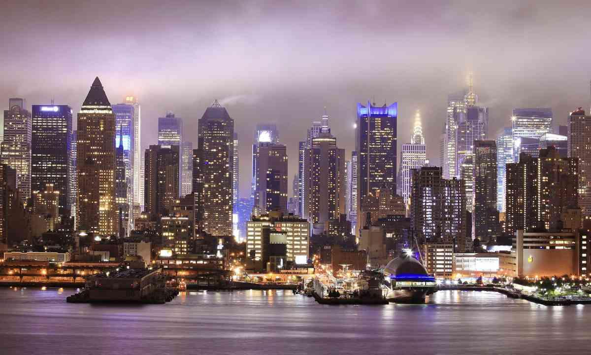 New York night view (Dreamstime)