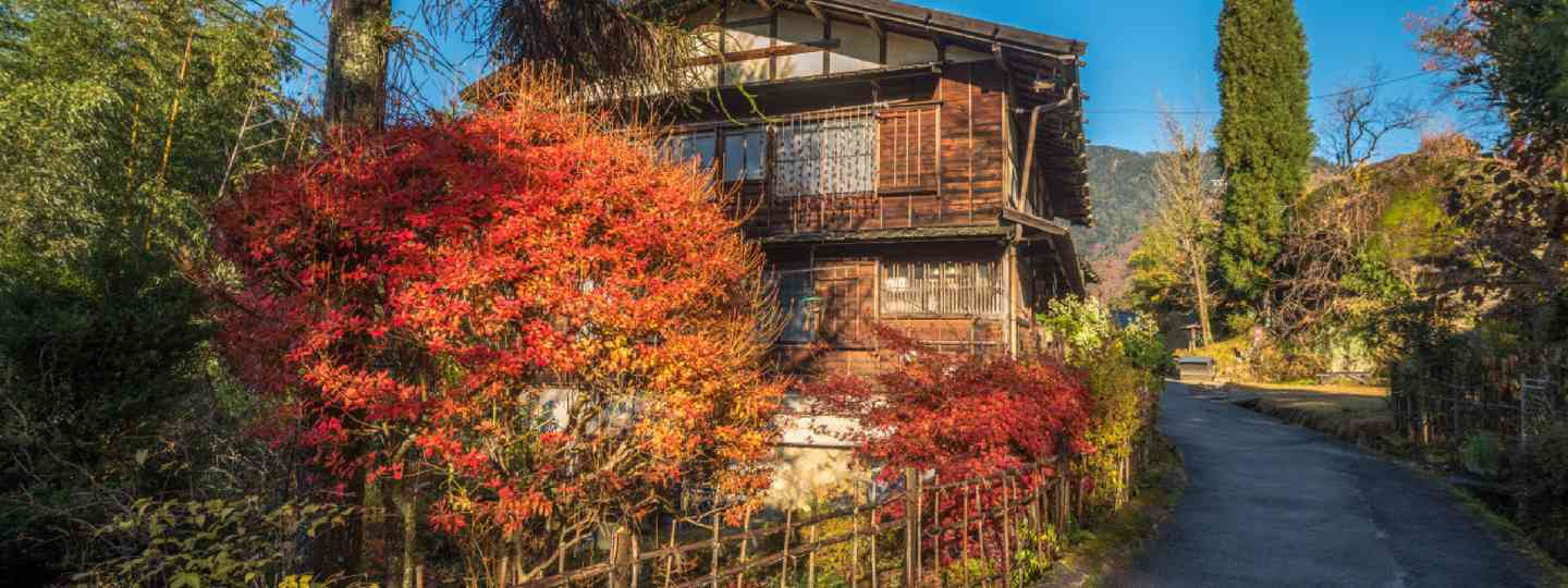 Tsumago, scenic traditional post town in Japan (Shutterstock: see credit below)