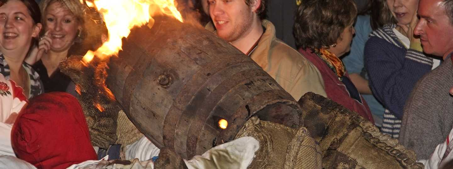 Roll out the barrel in Ottery St Mary (Shutterstock: see credit below)