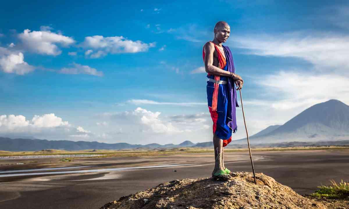 Masai warrior (Dreamstime)