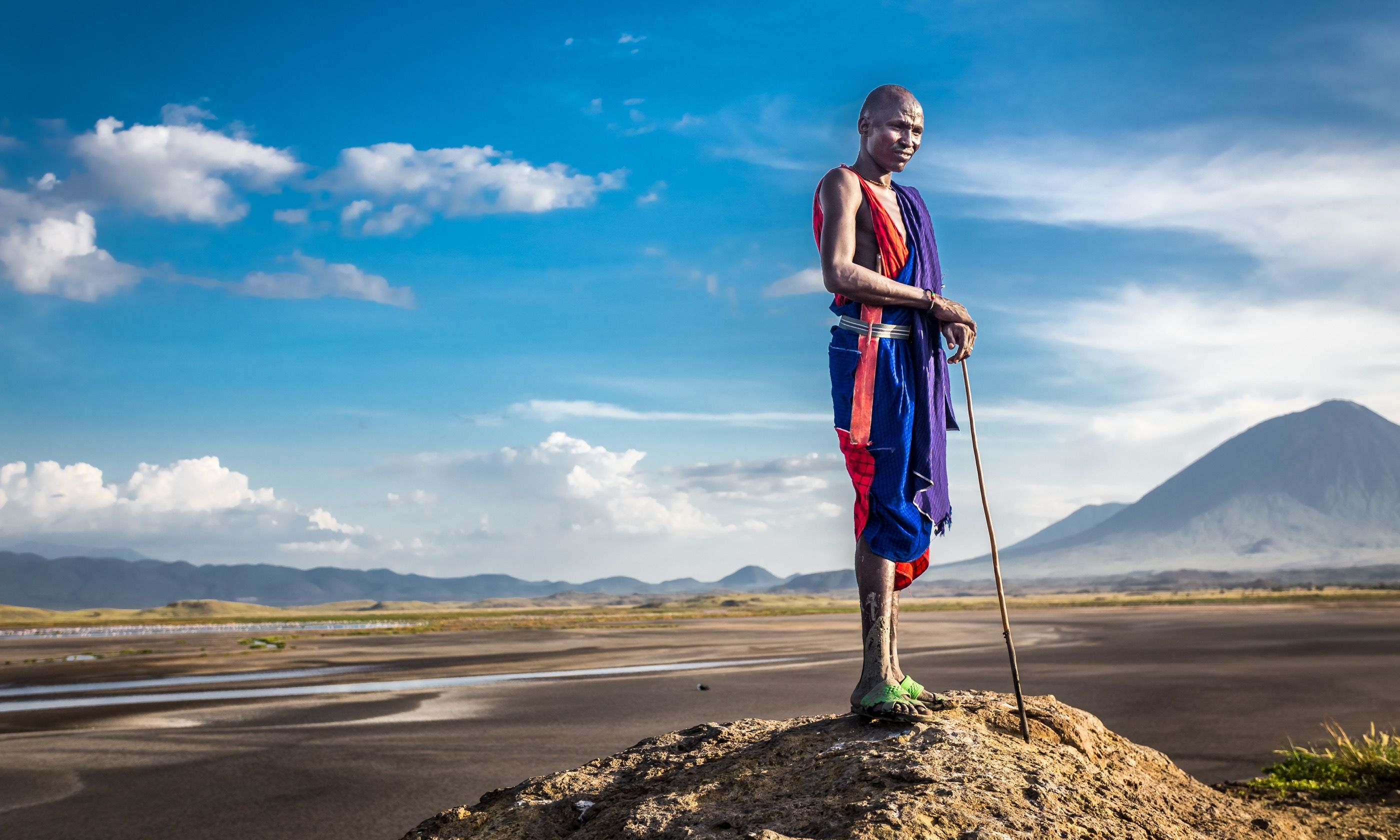 Masai warrior (Dreamstime)