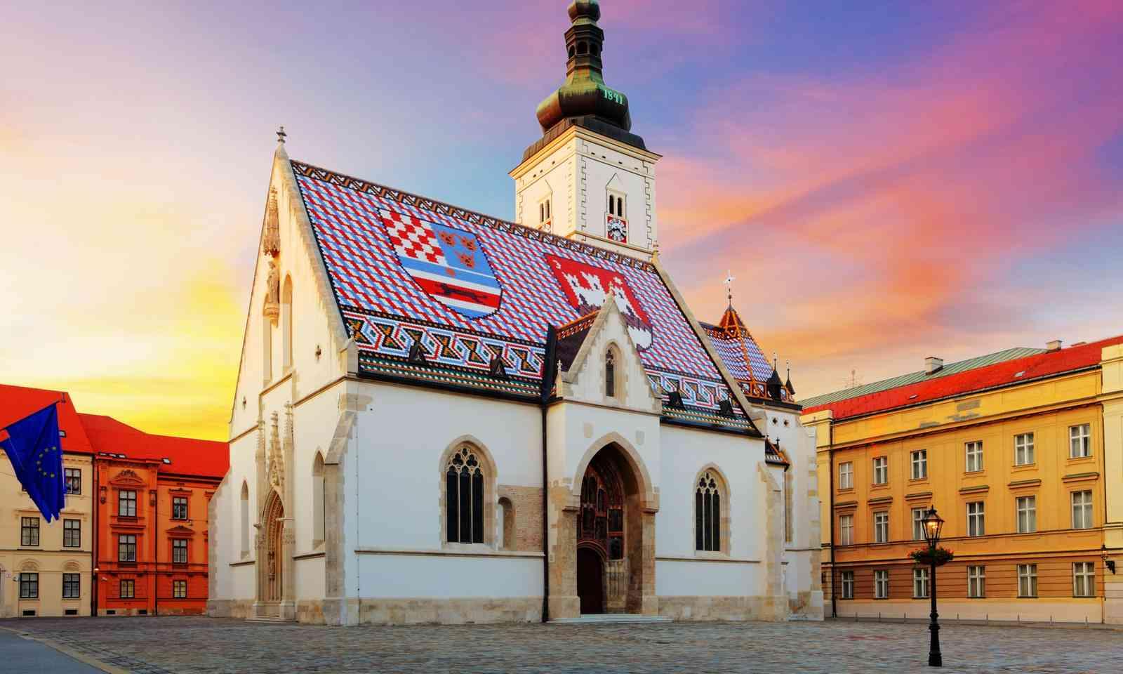 St Mark's Church, Gornji Grad (Dreamstime)