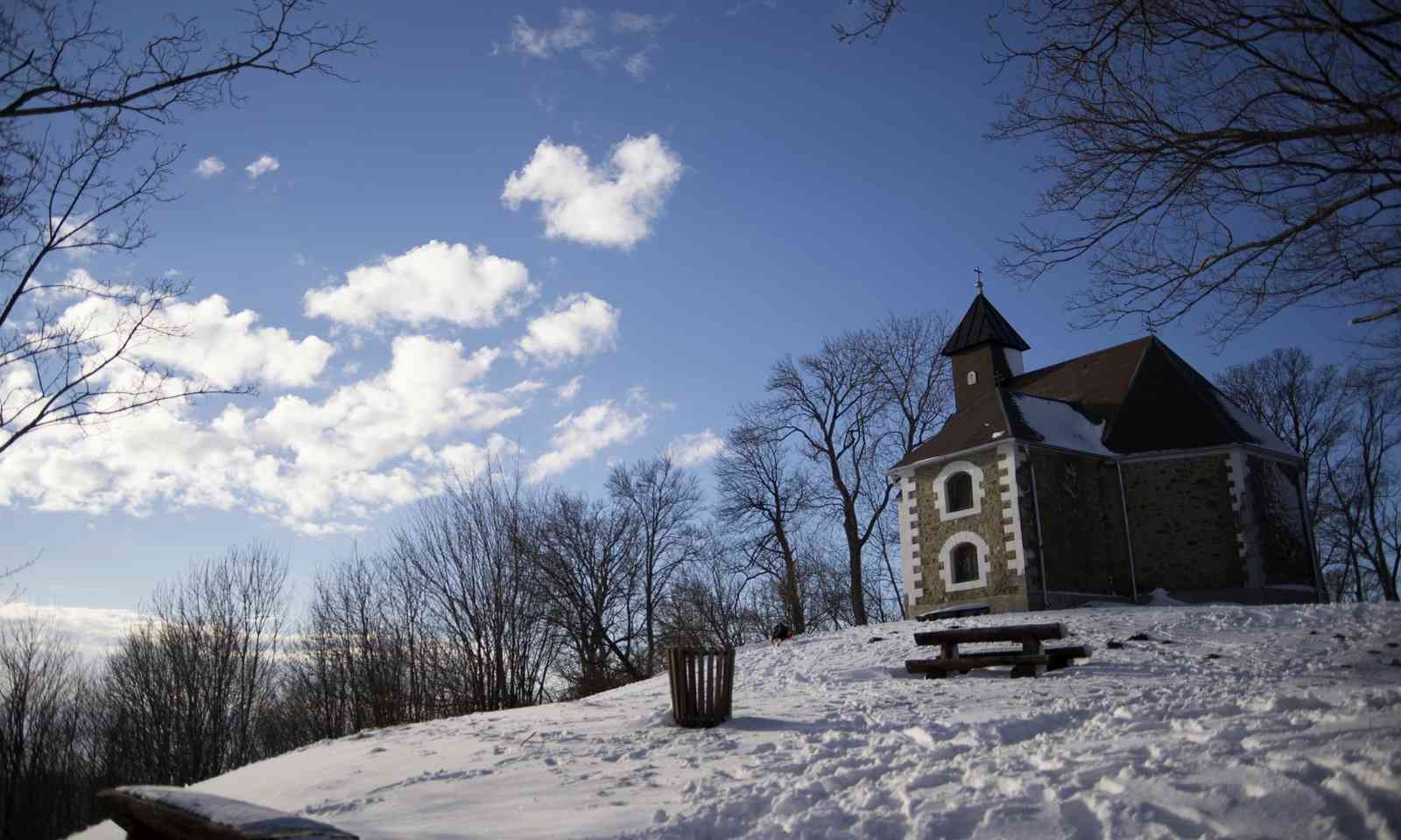 Chapel on Medvednica mountain above Zagreb (Dreamstime)