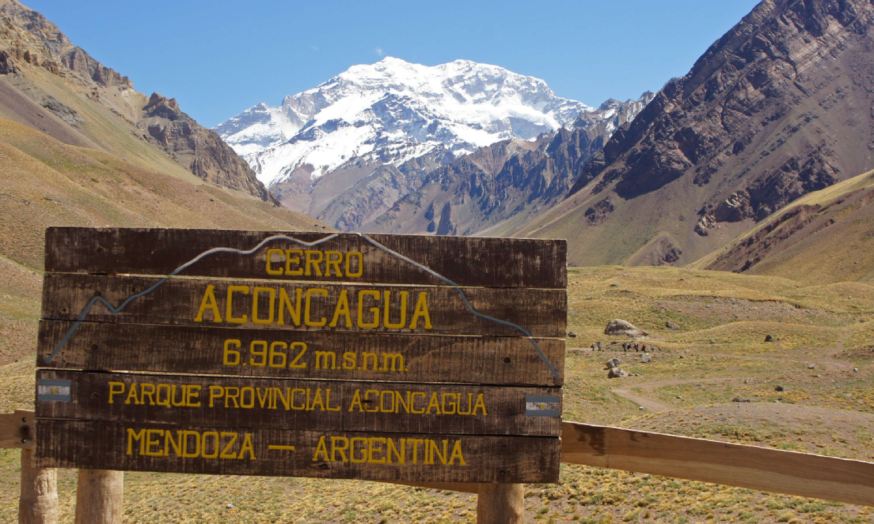 Aconcagua National Park, Andes Mountains (Shutterstock)