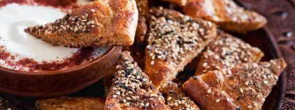 Man'oushé flatbread (Shutterstock)
