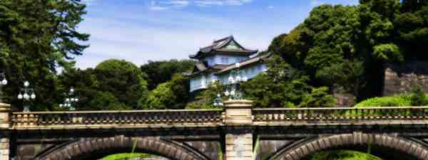 The defiantly ancient Imperial Palace in the heart of Tokyo (dreamstime)