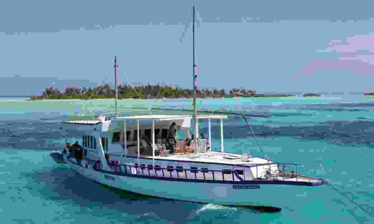 Your dhoni in Malé (Explore)