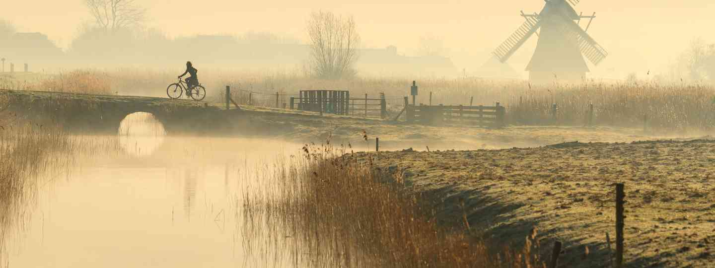 Foggy Spring sunrise in Holland (Shutterstock.com. See main credit below)